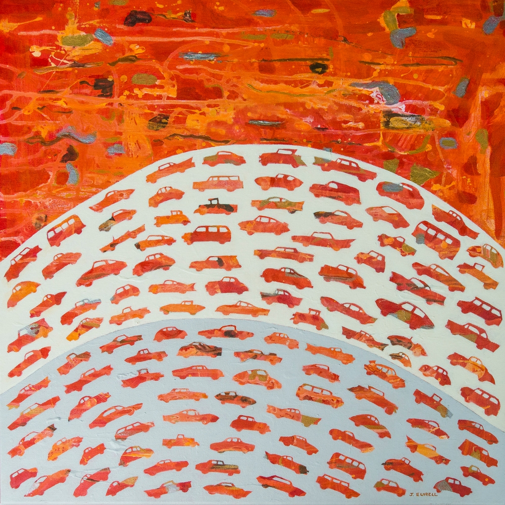 Contemporary painting called To and Fro